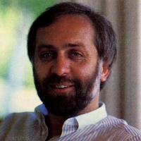 1984 image of Tim Mott, executive at video game maker Electronic Arts