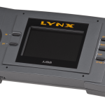Image of the Atari Lynx handheld game unit, 1989