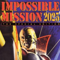 Box art for Impossible Mission 2025, a computer game for the Amiga by MPS Labs/Microprose 1994