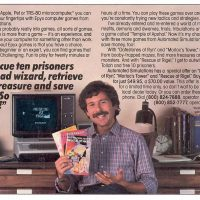Ad for video game company Epyx