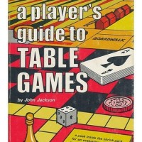 The original printing of A Player's Guide to Table Games