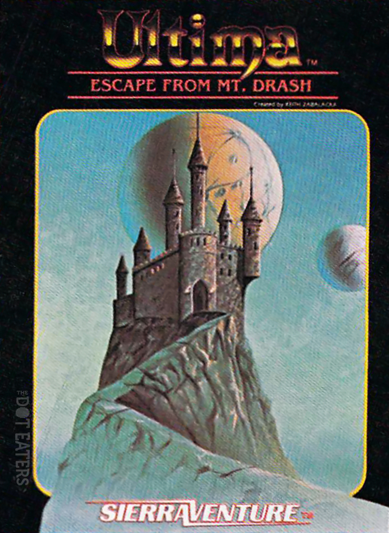 Escape from Mt. Drash, a computer game based in the Ultima universe, 1983