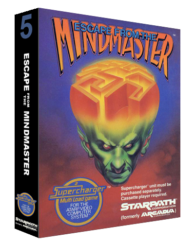 Escape from the Mindmaster, a video game for the Atari 2600 video game console