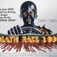 Poster for Death Race 2000, a movie by Roger Corman and New World Pictures 1975