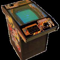 Cabinet for Atari Football, an arcade video game by Atari 1978