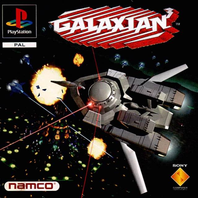 Case for Galaxian 3, a video game for the Playstation by Namco, 1985