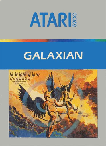 Galaxian, a home video game for the Atari 5200 video game console