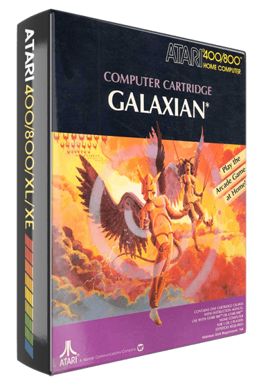 Galaxian, a home video game for Atari 8-bit personal computers