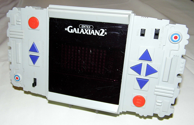 Galaxian 2, a handheld based on Namco's arcade video game Galaxian