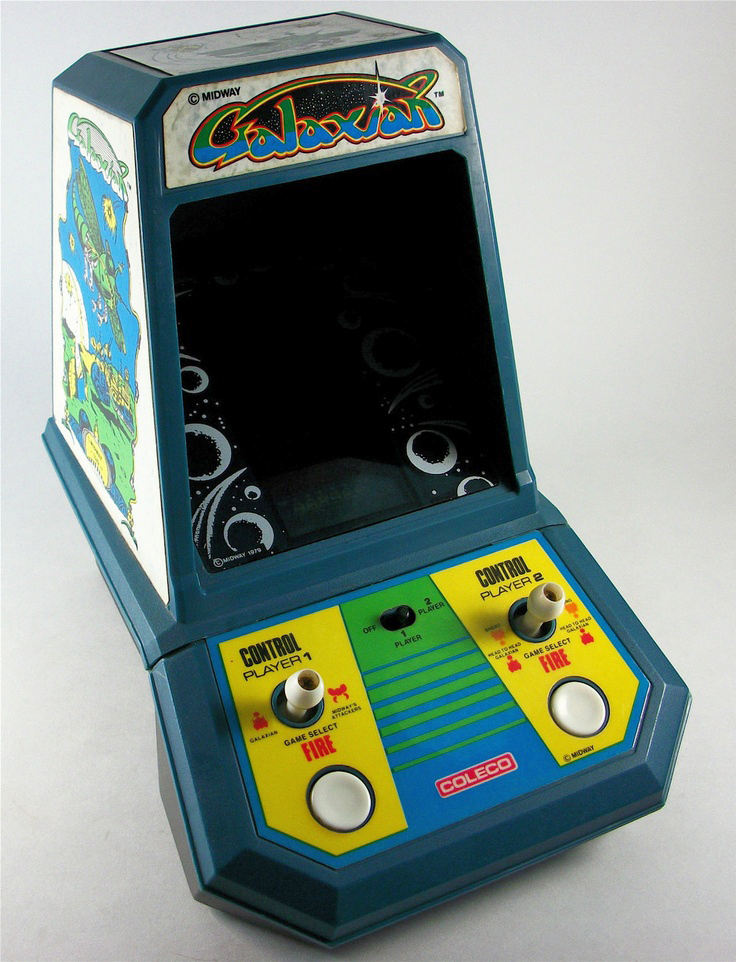 Coleco TableTop version of Galaxian, 1981
