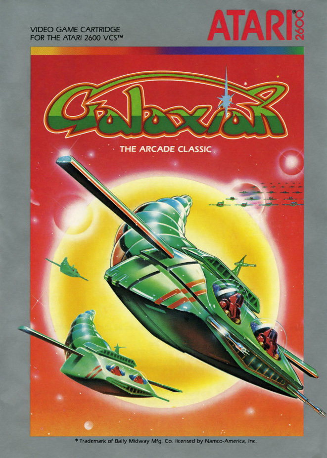 Galaxian, a home video game for the Atari 2600 video game console