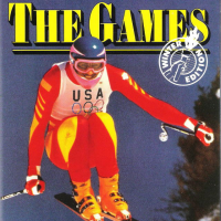 The Games: Winter Edition, a computer sports game by Epyx, for DOS computers