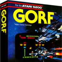 Gorf, a home video game for the Atari 5200 video game console