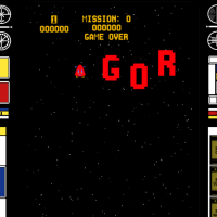 Gorf, an arcade video game by Bally/Midway