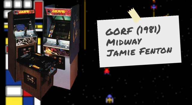 Gorf video arcade game by Midway