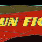 Screen crop of Gun Fight, an arcade video game by Midway 1975