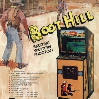 Flyer for Boot Hill, an arcade video game by Midway 1977