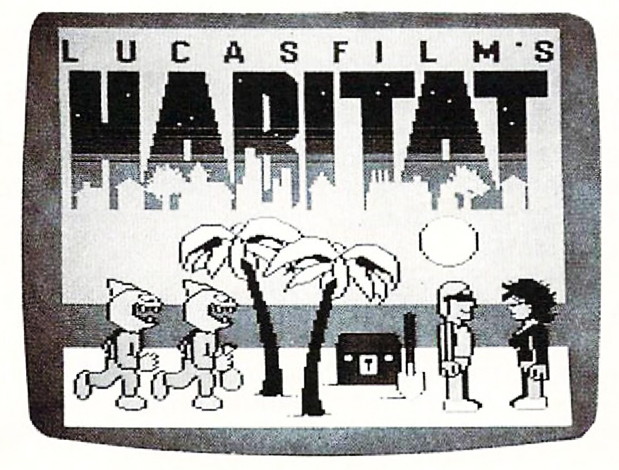 Habitat, an online graphical environment by LucasFilm, for the Commodore 64/128