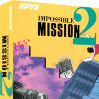 Mission Impossible 2, a platform video game for the Atari ST home computer