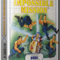 Impossible Mission, a platform video game for the Sega Master System