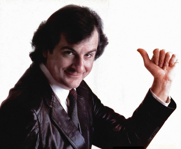 1985 image of Douglas Adams, author of the Infocom game Hitchhiker's Guide to the Galaxy