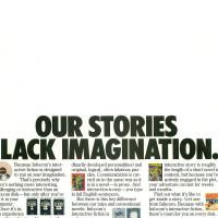 Ad for Infocom, a computer game company, 1984