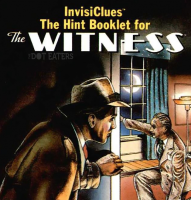 InvisiClues booklet for The Witness, a text adventure computer game by Infocom