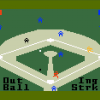 World Championship Baseball, a video game for the Intellivision by INTV 1983