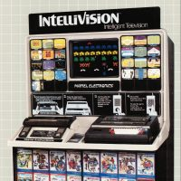 Kiosk for Intellivision, a home video game console by Mattel