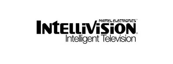 Logo for Intellivision, a home video game console by Mattel 1980