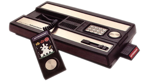 The Intellivision, a home video game console by Mattel 1980.