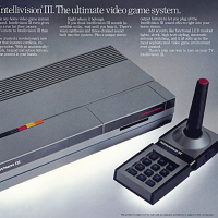 Ad for the Intellivision III console video game, unreleased