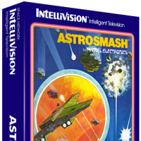 Astrosmash, a home video game for the Mattel Intellivision console