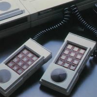 Extra hand controllers for the ECS, a home computer addon for the video game console Intellivision