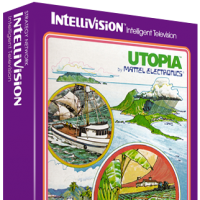 Utopia, a home video game for the Mattel Intellivision game console