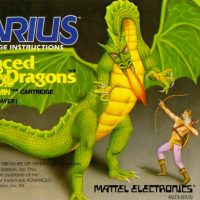 Advanced Dungeons & Dragons: Treasure of Tarmin, a home computer cartridge for Aquarius