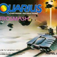 Astrosmash, a home computer cartridge for the Mattel Aquarius