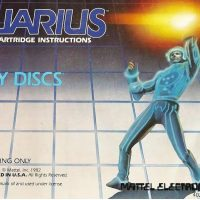 Tron Deadly Discs, a home computer game for the Aquarius by Mattel