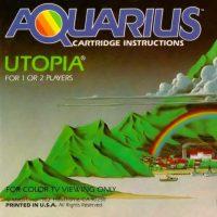 Utopia, a game for the Mattel Aquarius home computer