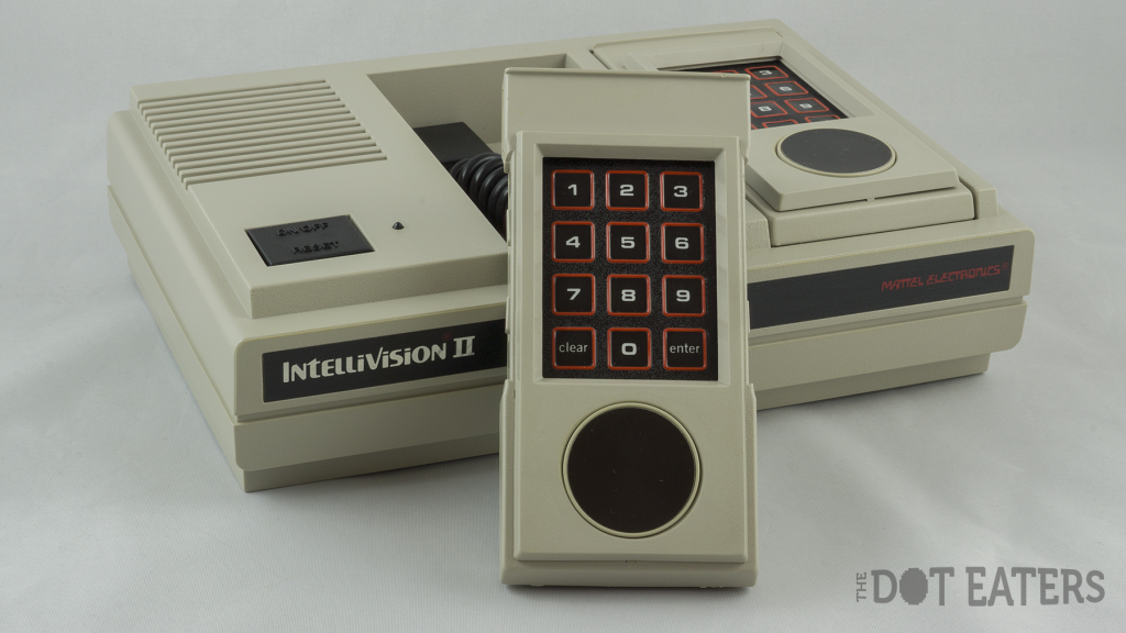 The Intellivision II, a home video game system by Mattel 1983