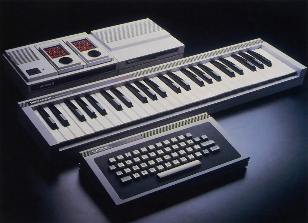 Music Synthesizer, a component of the ECS, a home computer upgrade for Intellivision, a video game console by Mattel
