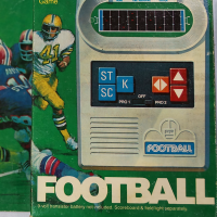Football, an electronic game by Mattel Electronics 1977