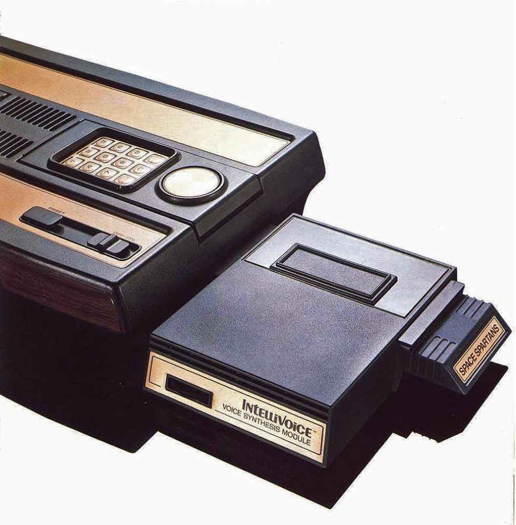 Intellivoice speech synthesis module, for the Mattel Intellivision console video game