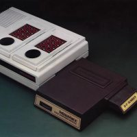 Intellivoice, an add-on for Mattel's video game system Intellivision