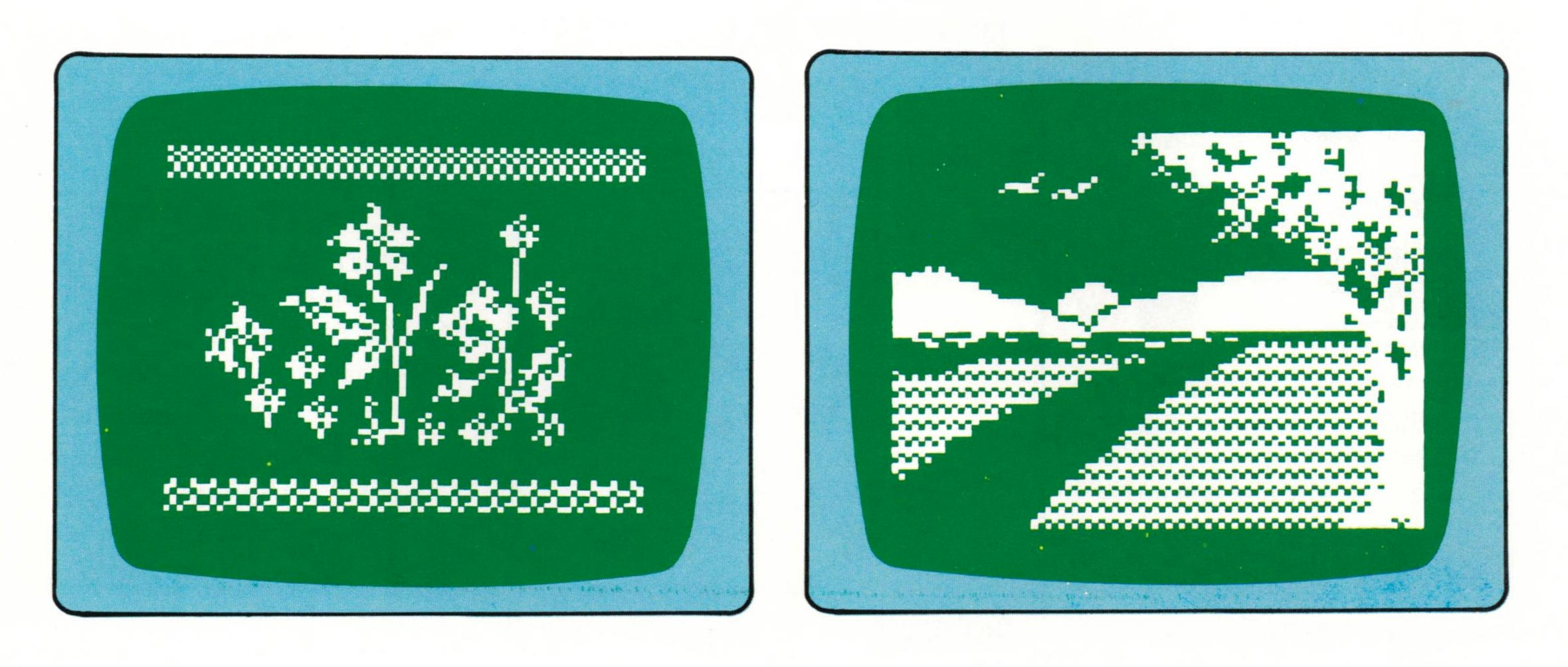 Graphic sample for Intellivision, a home video game by Mattel