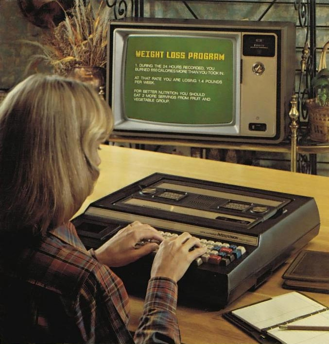 Keyboard Component, a computer add-on for the Intellivision, a video game console by Mattel