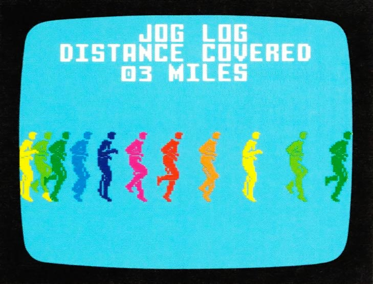 Jack LaLanne fitness program for the Intellivision, a video game by Mattel