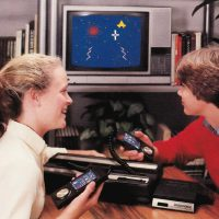 Promo shot of the Intellivoice for Intellivision, a home video game by Mattel