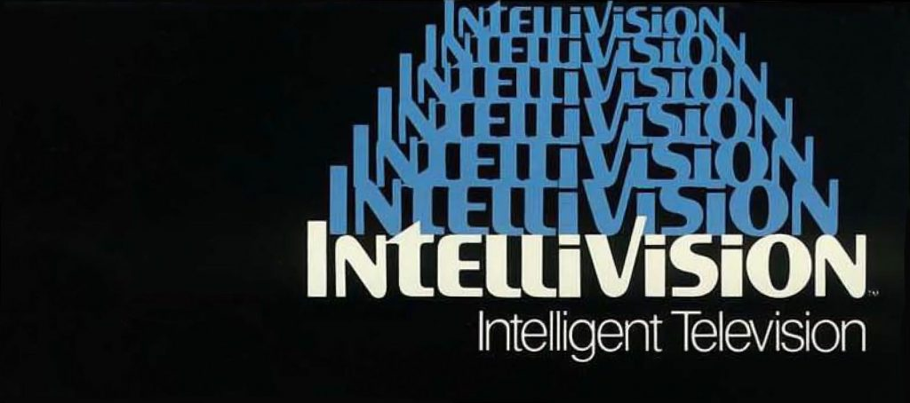 Logo for Intellivision, a video game system by Mattel