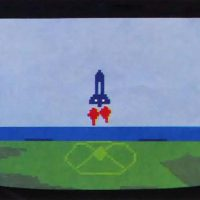 Space Shuttle, a game for the Intellivision video game console with Intellivoice, by Mattel